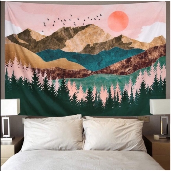 Urban Outfitters Mountain ⛰ Tapestry New